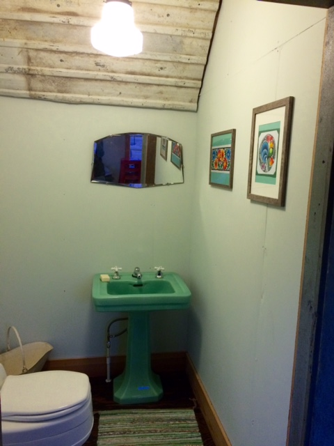 workshop bathroom